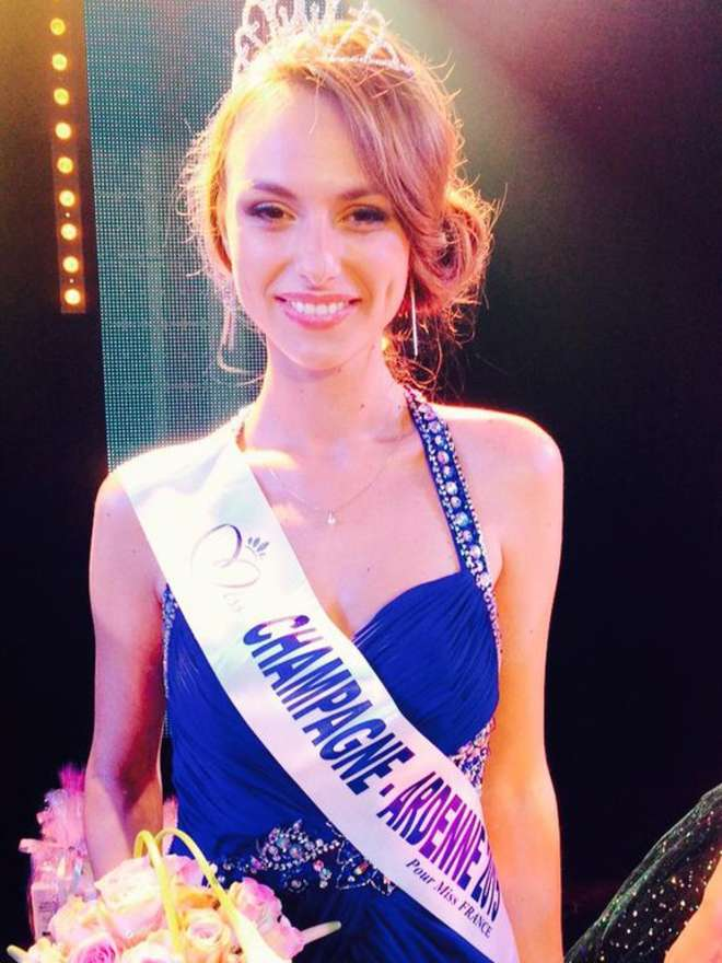 Océane Pagenot Miss Champagne-Ardenne Source : Twitter