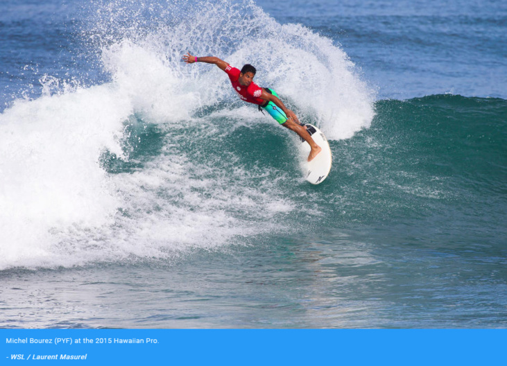 Crédit : world surf league
