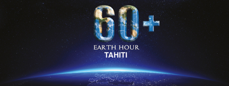 Crédit : Earth Hour Tahiti
