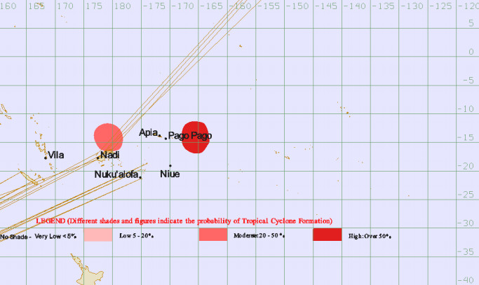Source : Fiji meteorological service