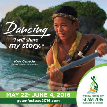 Crédit : Facebook Festival of the Pacific Arts Guam 2016 (Guam FestPac 2016)