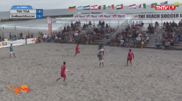Tournoi Oceanside : Go Beachsoccer s'impose face aux Tiki Toa