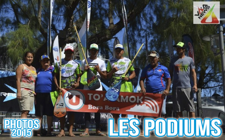 Photos Te Aito 2015 - Les podiums