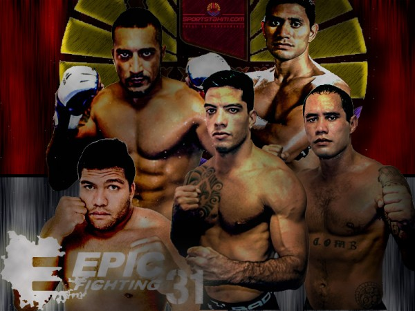 MMA : 5 Polynésiens à l'Epic Fighting 31